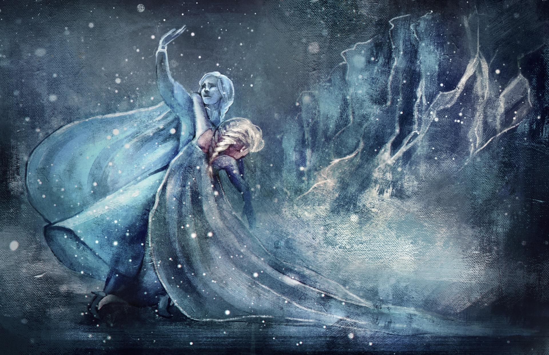 hinh nen frozen elsa 9