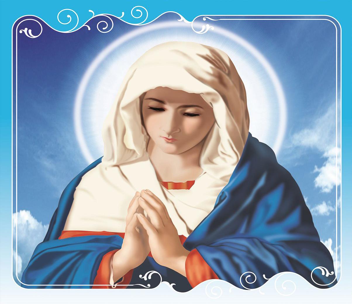 hình nền mẹ Maria