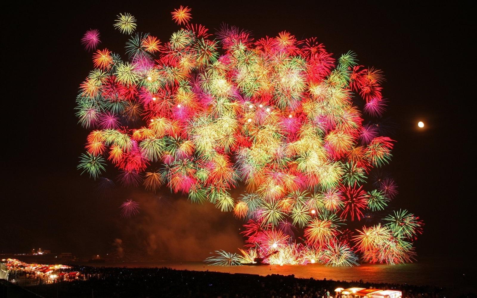 hình nền đẹp pháo hoa ngày tết