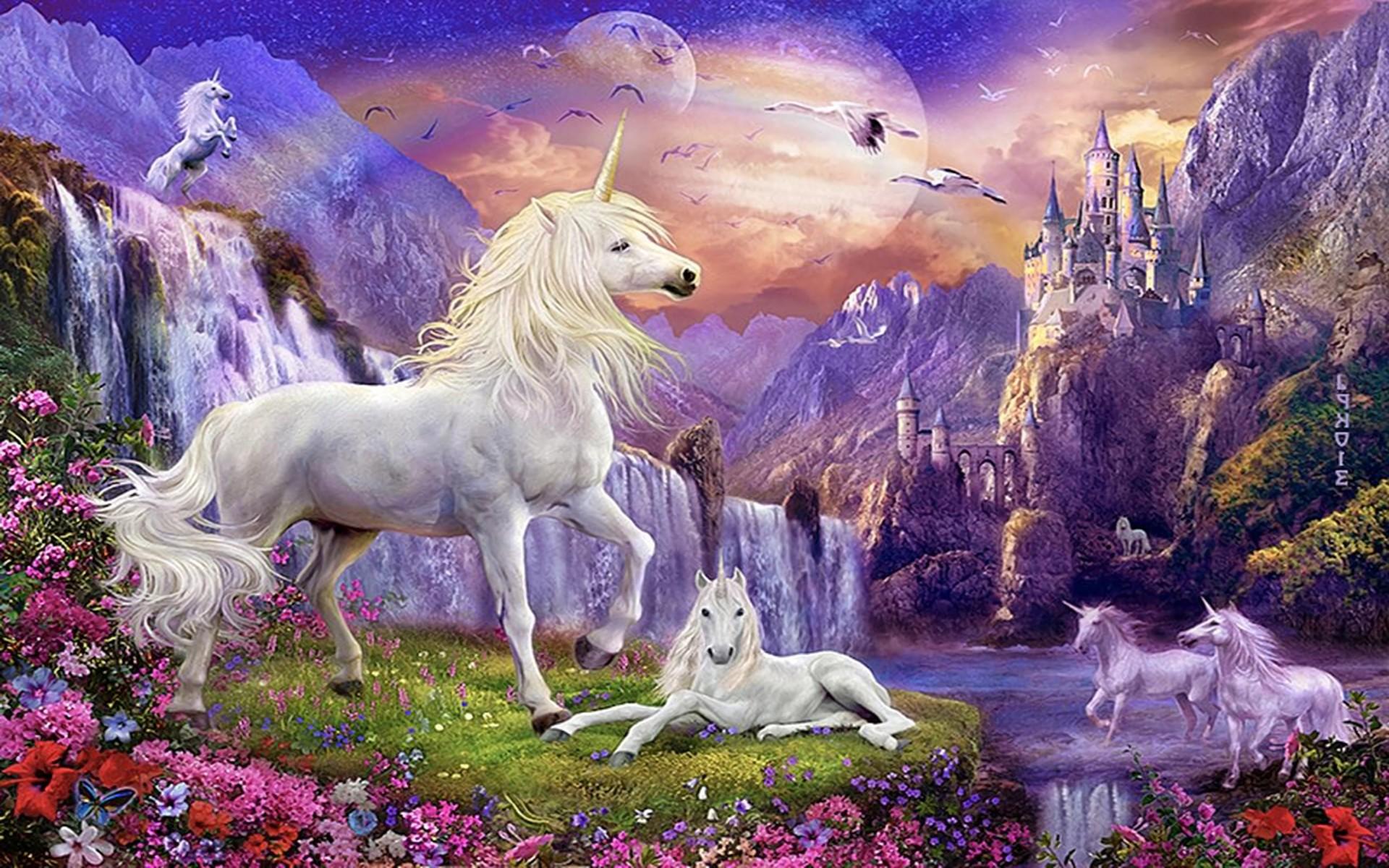 Hình nền kỳ lân Unicorn