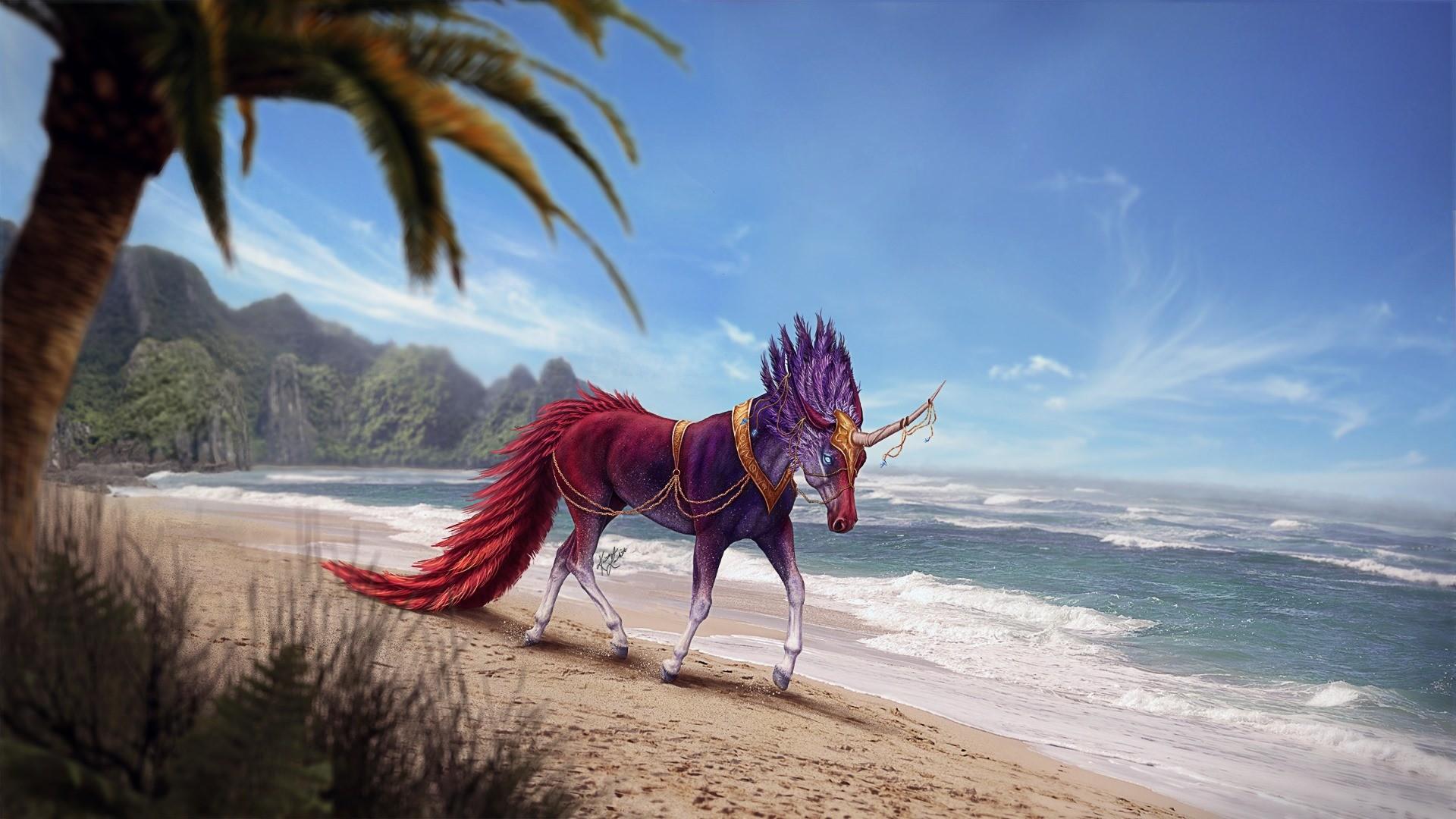 hinh nen ky lan unicorn 17