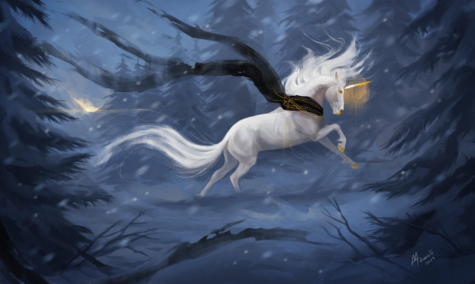 hinh nen ky lan unicorn 18