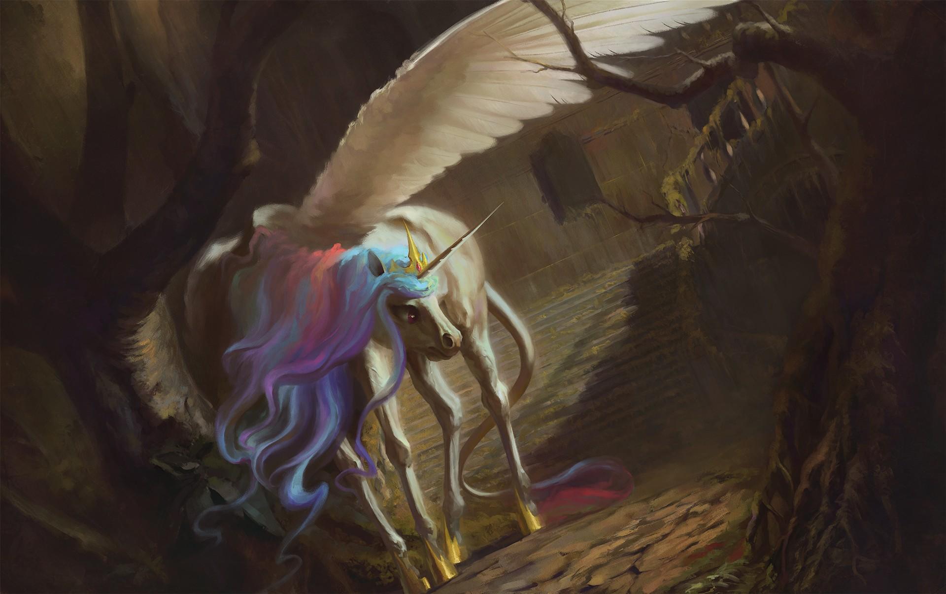 hinh nen ky lan unicorn 19