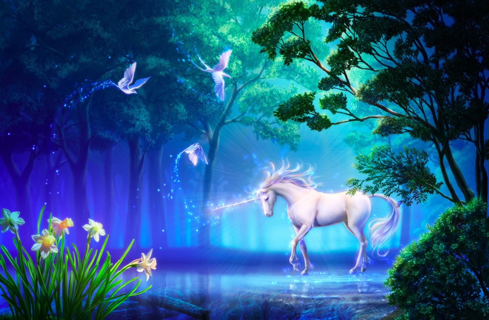 hinh nen ky lan unicorn 3