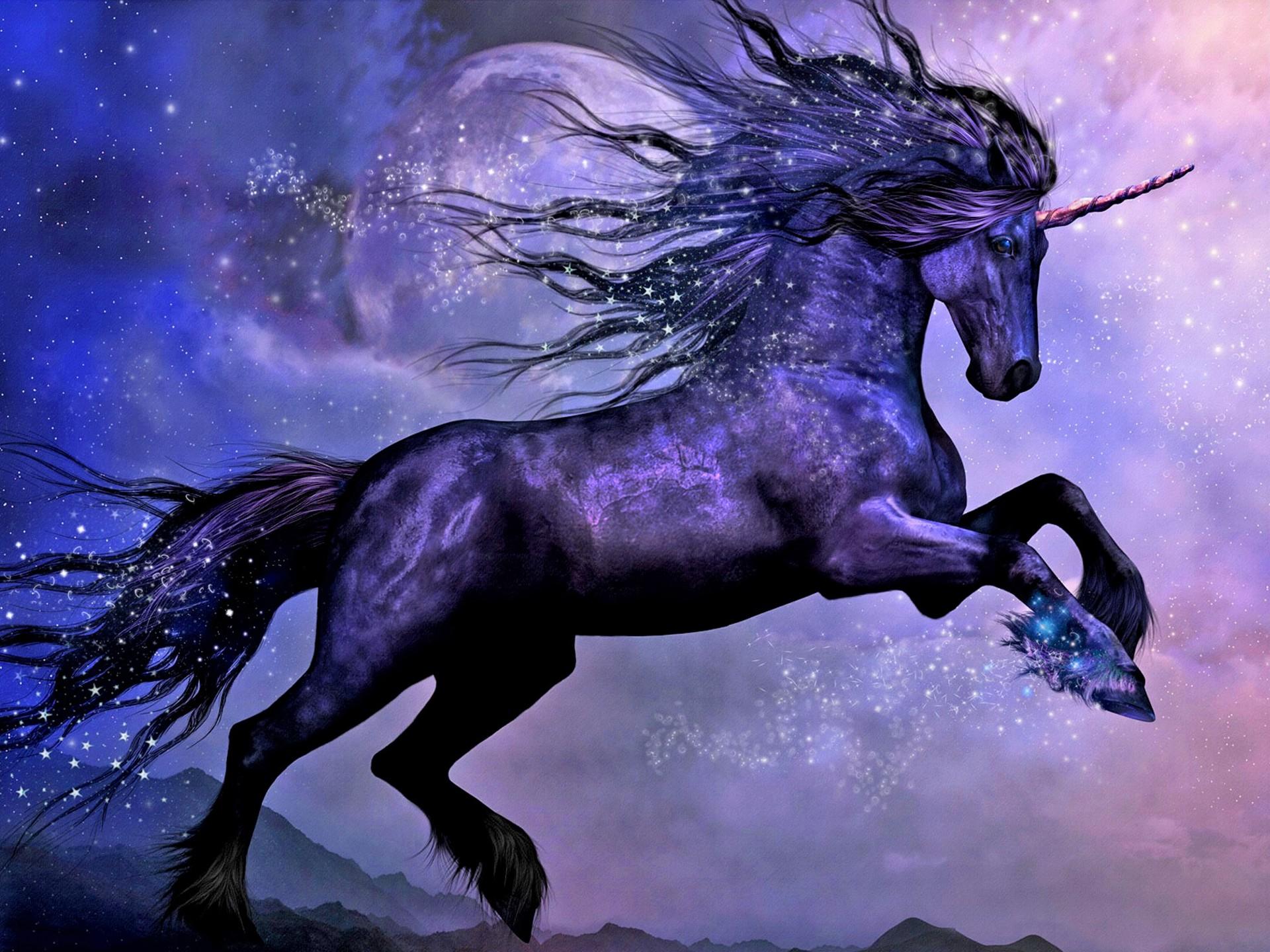 hinh nen ky lan unicorn 9