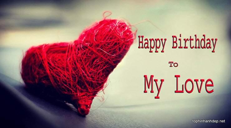 Hình chúc mừng sinh nhật người yêu
