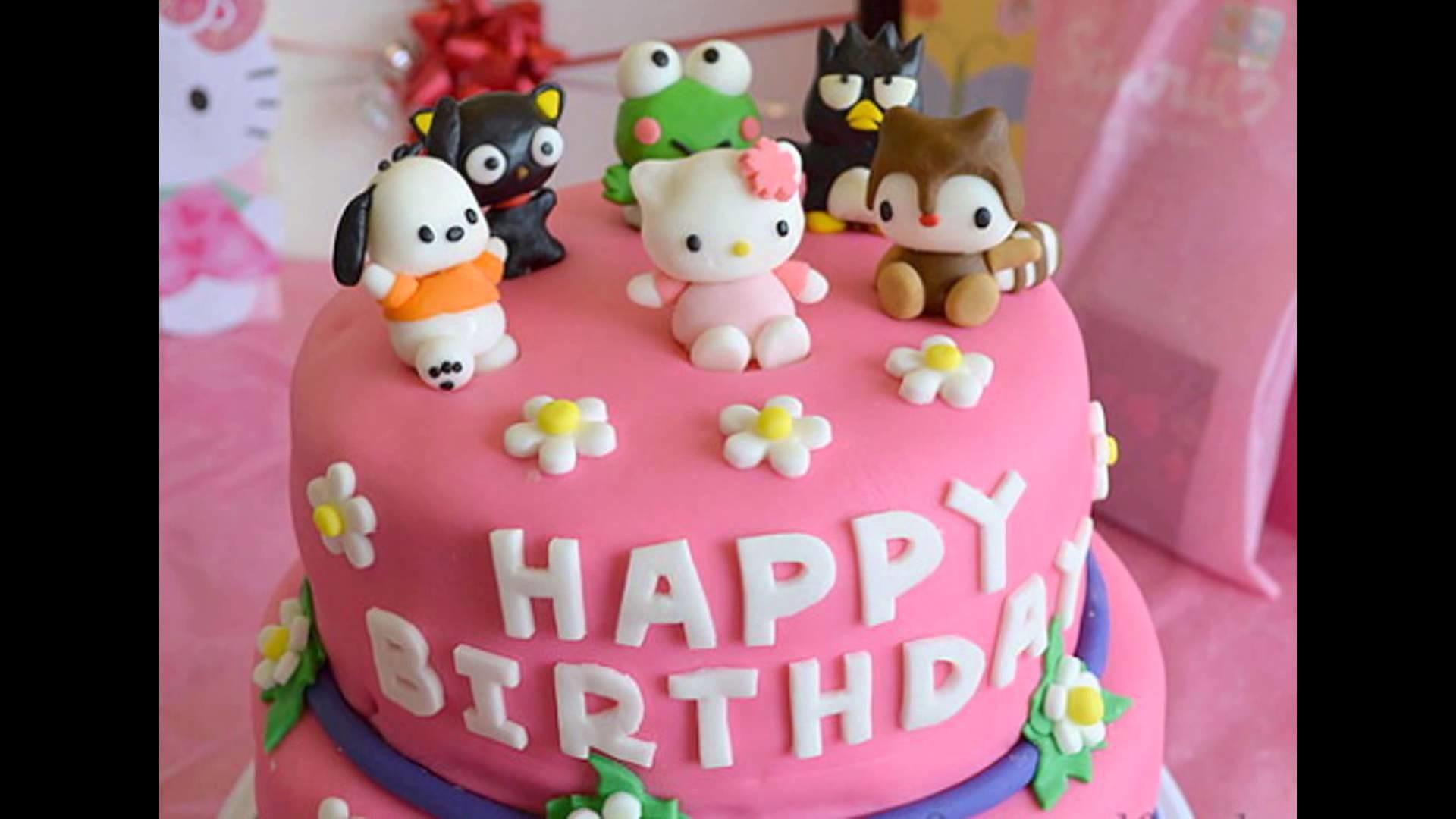 Hình ảnh bánh kem sinh nhật dễ thương