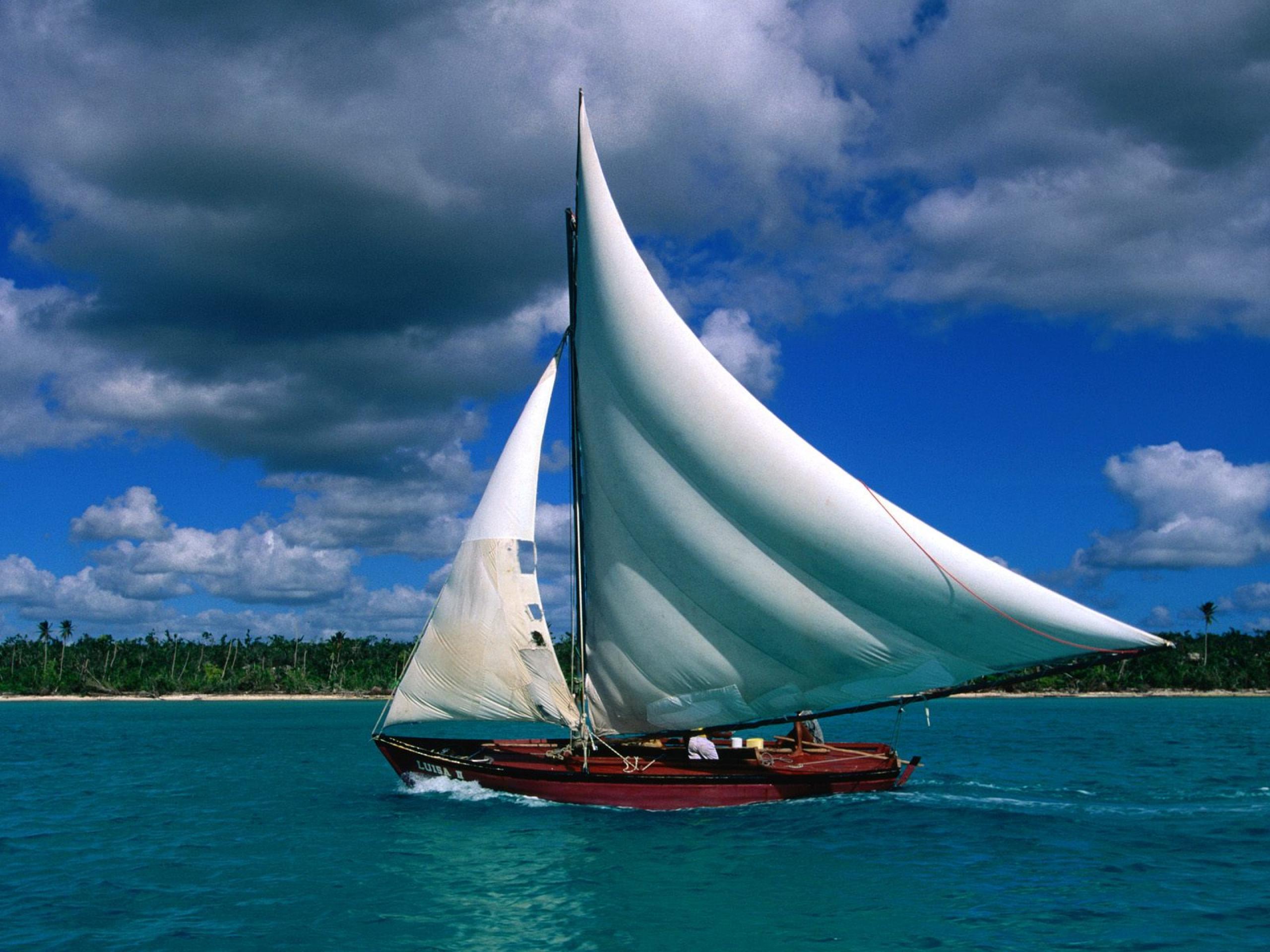 tải ảnh thuyền buồm lãng mạn