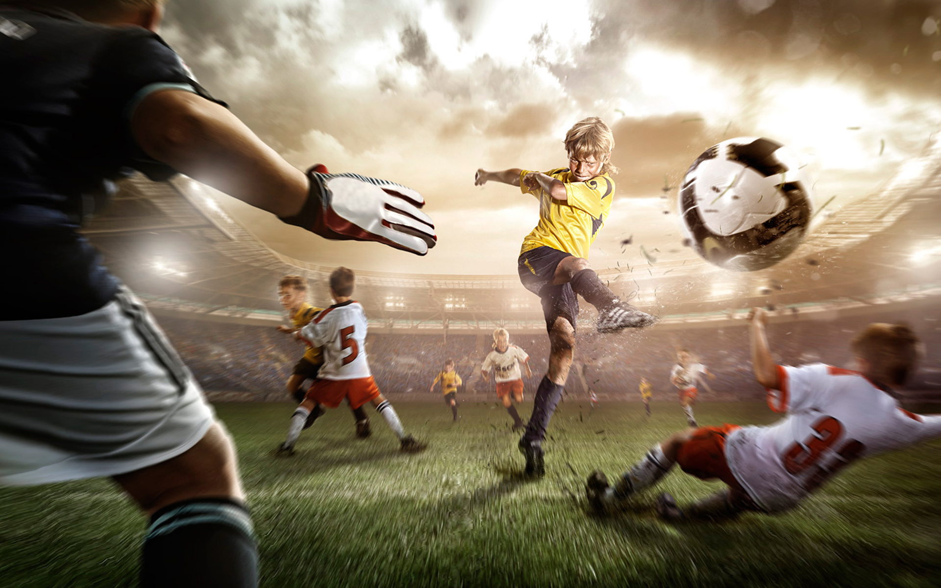 Hình nền máy tính bóng đá HD