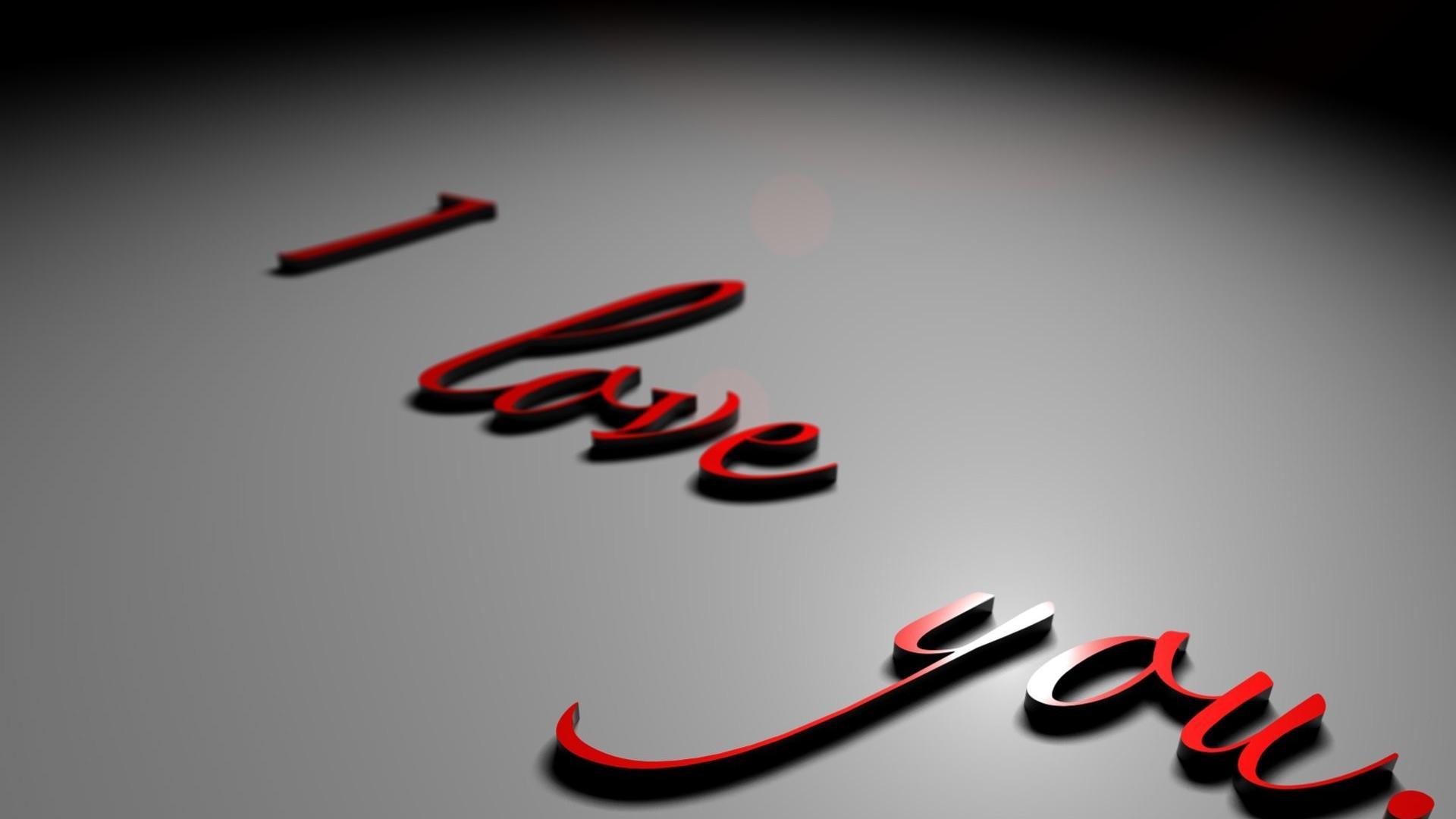 tải ảnh có chữ i love you lãng mạn