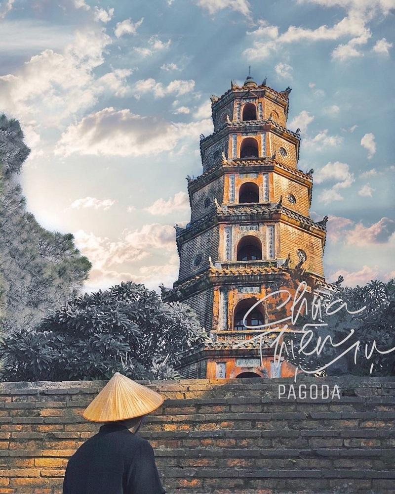 Hình ảnh chùa Thiên Mụ