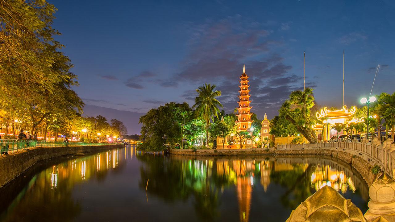Hình ảnh chùa Trấn Quốc