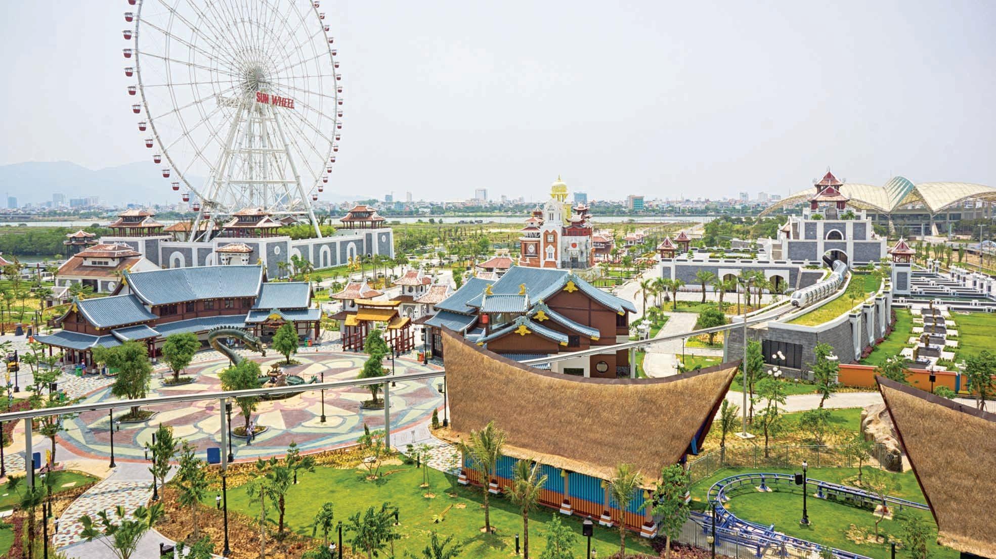 Công viên Asia Park - Sun World Danag Wonders