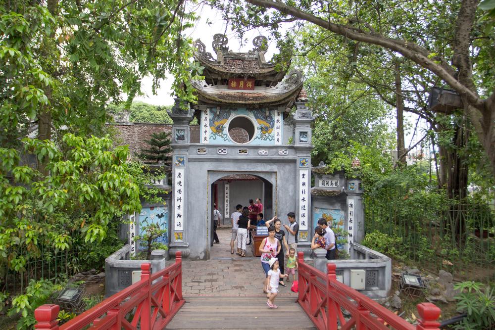 Hình ảnh đền Ngọc Sơn