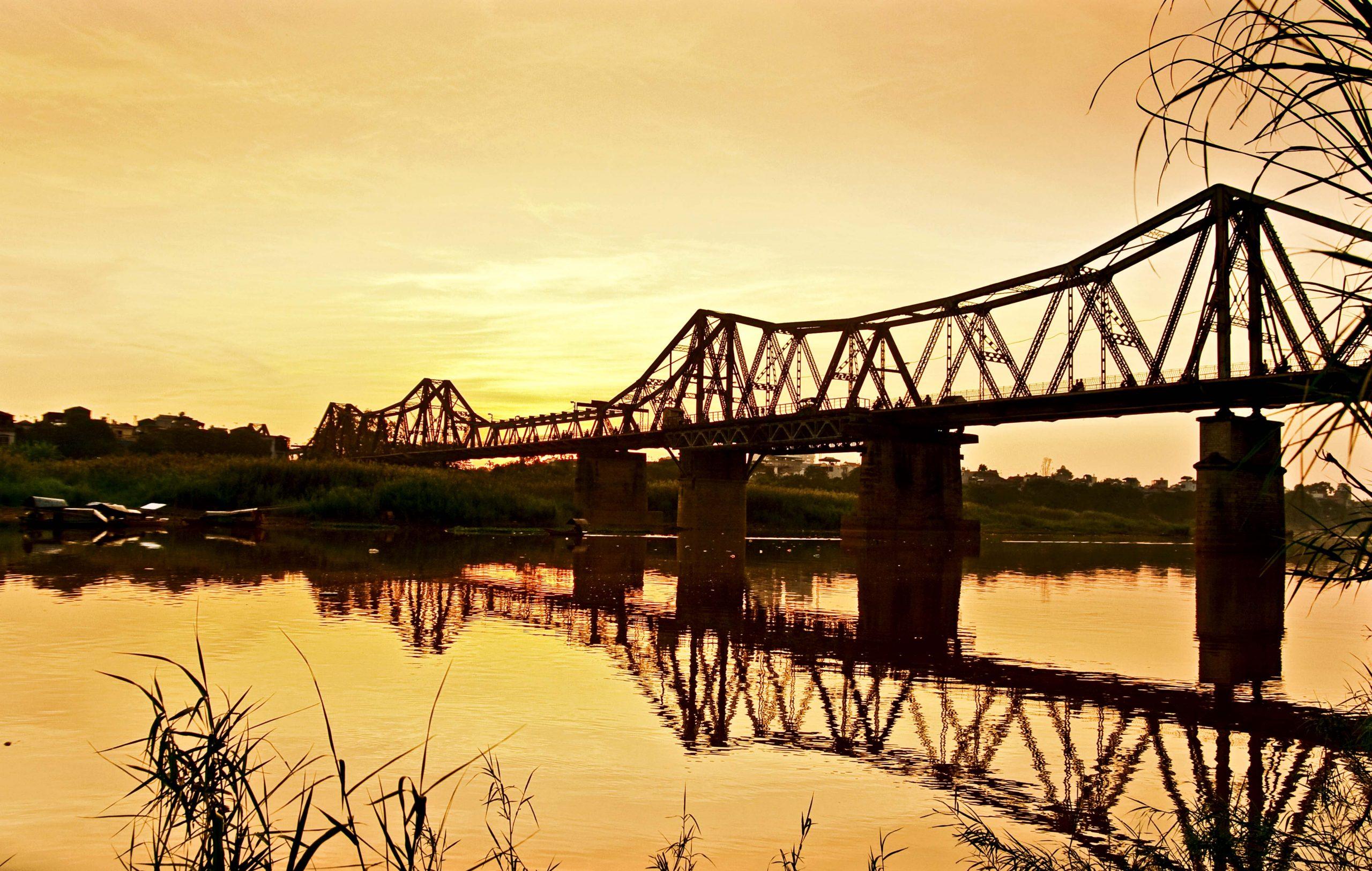 Hình ảnh đẹp cầu Long Biên
