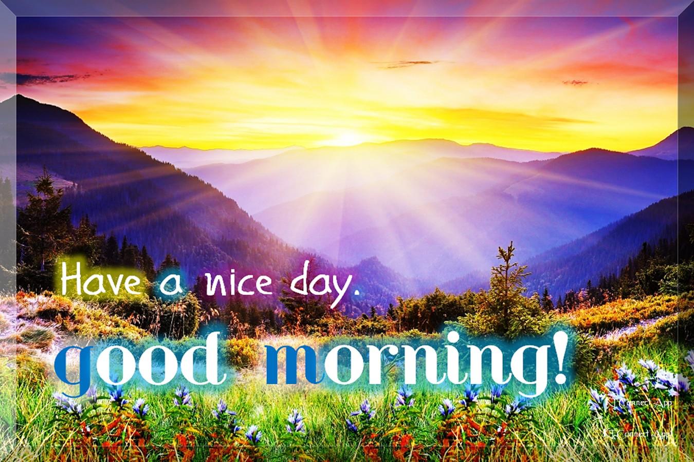 Hình ảnh Have a nice day đẹp ý nghĩa