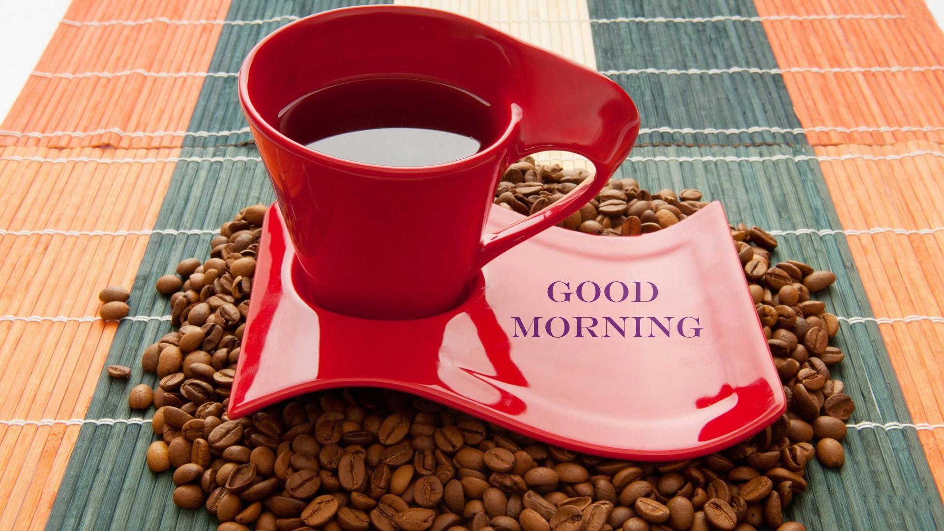 Ngày mới với tách cafe