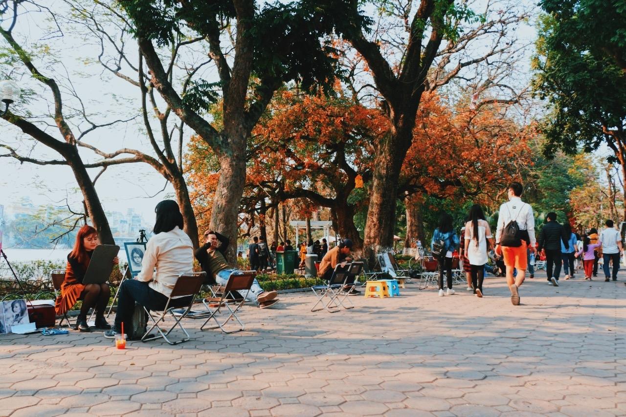 Ảnh Hồ Gươm đẹp