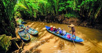 Hình ảnh sông nước miền Tây Nam Bộ