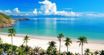 Cảnh biển Nha Trang tuyệt đẹp