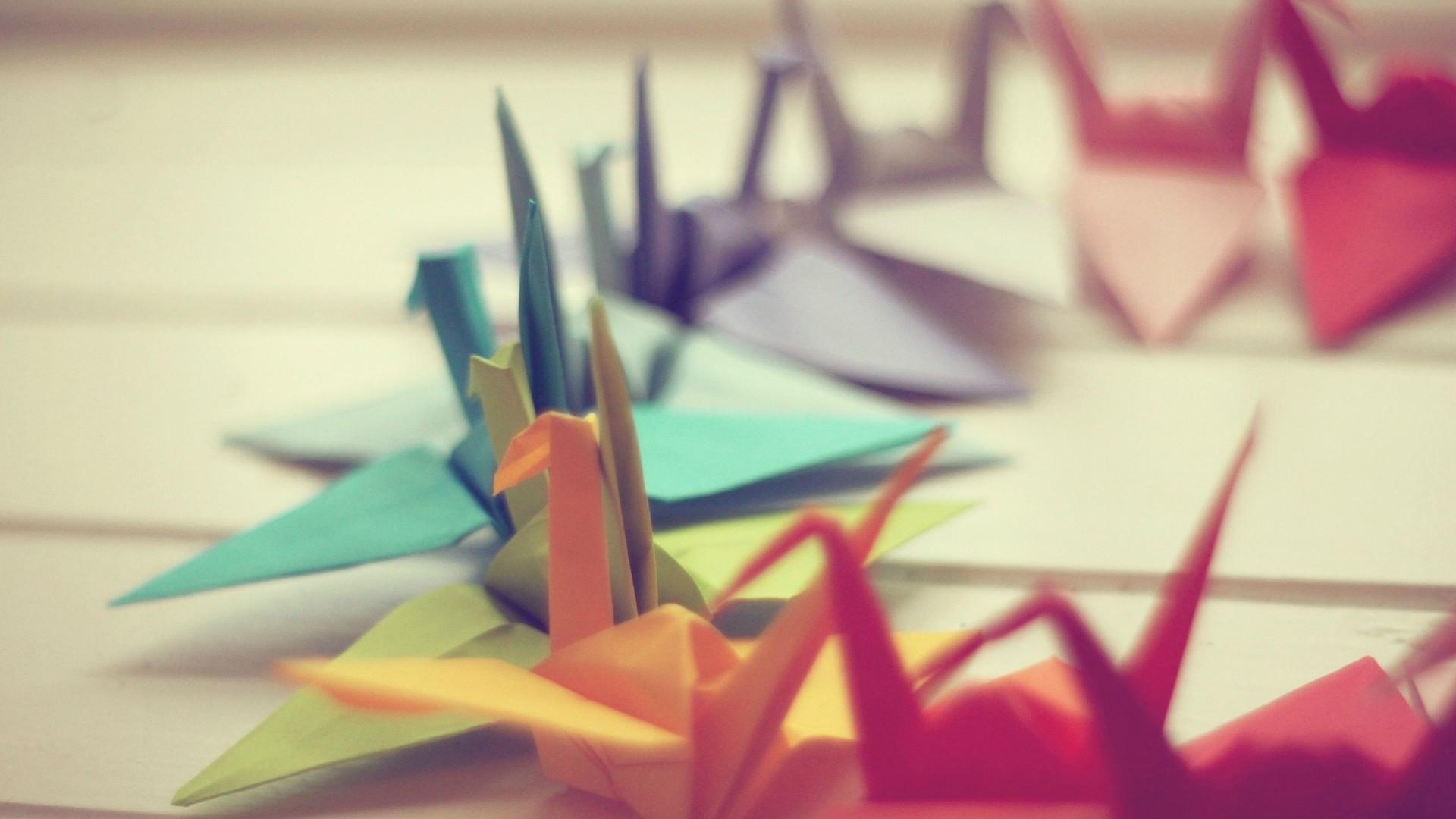 hình nền hạc giấy