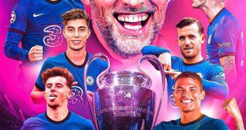 Hình ảnh Chelsea vô địch cúp C1